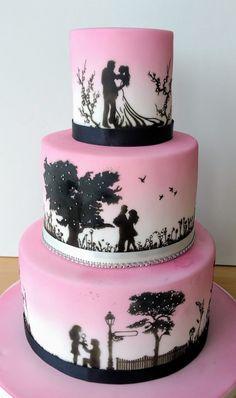 Indescribable Your Wedding Cakes Ideas. Exhilarating Your Wedding Cakes Ideas. Wedding Cake Prices, Floral Wedding Cakes, Fall Wedding Cakes, White Wedding Cakes, Lace Wedding, Floral Cake, Purple Wedding, Elegant Wedding, Wedding Favors