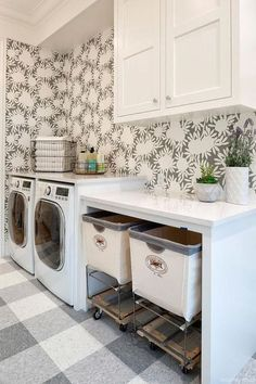 Laundry Room with Storage (2)