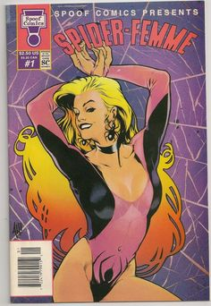 Spoof Comics Presents Spider Femme 1992 1 VF NM AH Adam Hughes Cover | eBay