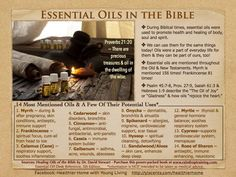 Essential oils from the Bible. sign up with Sponsor & Enroller ID 1611042