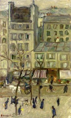 PIERRE BONNARD. Boulevard des Batignolles, 1901, oil on canvas.