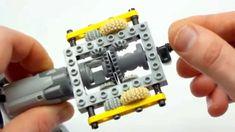 Super-small Lego Technic automatic gearbox