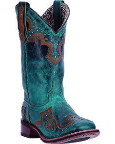 Laredo Beko Broad Square Toe Cowgirl Boot 5653 (Women's) JI7bllzHy