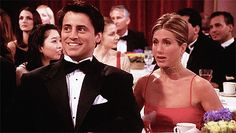Joey and Rachel Friends Reunion GIFs 2016 | POPSUGAR Celebrity
