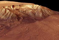 Image of Megacanyon on Mars
