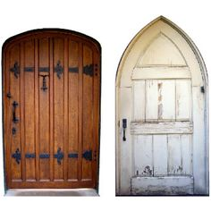 "Size: Each door is approximately 2.25"" wide by 4"" tall  I've seen fairy doors for years, lovely creations you can add to trees, rocks or other locations in your yard to give an enchanted look to you"