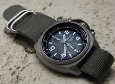 Seiko SNN117 P1 Military Chrono