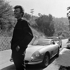 "2,097 Likes, 8 Comments - Car&Vintage® (@car_vintage) on Instagram: ""• Ferrari Friday. Clint Eastwood with your Ferrari 275 GTB • www.carandvintage.com #CarVintage…"""