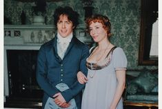 Hugh Grant (Edward Ferrars) & Emma Thompson (Elinor Dashwood) - Sense and Sensibility (1995) #janeausten #anglee