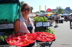 At the @VisitGoldenCO Farmers' Market. @Visit Golden, http://www.heiditown.com/2013/06/26/a-2-day-getaway-to-golden-colorado/