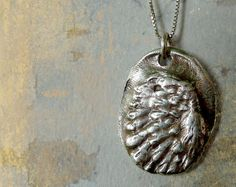 Angel Wing Necklace.  Handmade Jewelry.  $95.00
