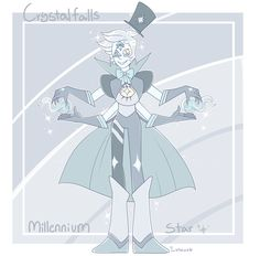 Bill and Dippers fusion, Millennium Star. He's quite a childish dangerous gem, take caution. Support My Patreon!!