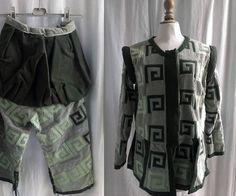 Vintage déguisement copie de costume historique veste et