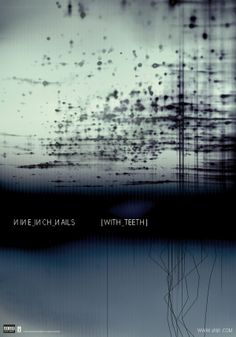 "Rob Sheridan - Cartel del álbum de Nine Inch Nails ""With Teeth"" [2005]."