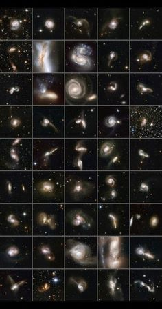 Hubble Space Telescope - #Universe, #Galaxies