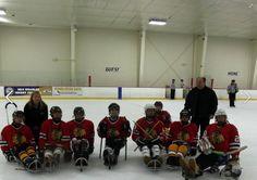 Polar Xpress at the Disabled Hockey Festival.