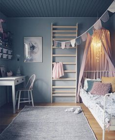 "634 Likes, 8 Comments - Mrs Mighetto (@mrsmighetto) on Instagram: ""Love the colours in this room @studioelwa #mrsmighetto #missalice #kids #kidsroom #kidsroominspo"""