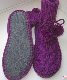 Best 12 Crochet socks – Page 326229566758475572 – SkillOfKing. Crochet Ripple, Diy Crochet, Crochet Stitches, Crochet Baby, Crochet Slipper Pattern, Knitted Slippers, Crochet Slippers, Knitting Socks, Baby Knitting