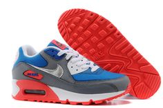 on sale df895 ff9dd Women s Nike Air Max 90 Sneaker Shoes A Jogging Shoes Dark Gray Blue  Red only