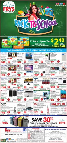 Fry's Electronics Weekly Ad July 23, 2017 - http://www.olcatalog.com/electronics/frys-weekly-ads.html