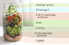 Burrito in a Jar | 28 Incredible Meals You Can Make In A Mason Jar