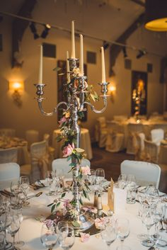 Quirky Stylish Lovely Big Party Wedding Candelabra http://www.mattbrownphotography.co.uk/