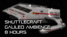 """🎧 Star Trek: TOS """"Shuttlecraft Galileo"""" Background Ambience *8 HOURS* (f..."""