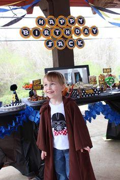 Star Wars birthday party ideas - cute!