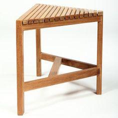 stool corner seat narrow folding bench plastic chair teak wood shower