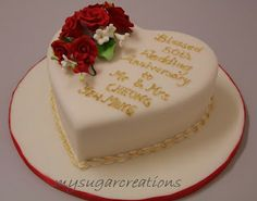 Th wedding anniversary cake pictures ideas