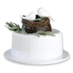 love bird cake topper. not sure about the nest though...