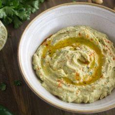 Receita Hummus com Jalapeno e Lima {} Fácil - Food Fé de Fitness