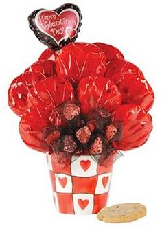 Valentine Cookie Bouquet from DVO Recipe Center
