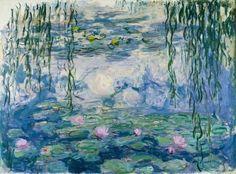 Claude Monet - Wasserlilien