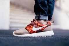 Nike Roshe One Print 'Cinnabar'