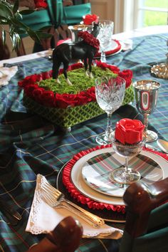 "Kentucky Derby tablescape----I GOT SOME  GREAT PLATES---RALPH LAUREN ON SALE 5.00 EACH----""SADIE"" CHINA"