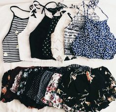 boho style halters and drapey shorts Look Fashion, Teen Fashion, Fashion Outfits, Womens Fashion, Fashion Trends, Classy Fashion, Paris Fashion, Fashion Clothes, Fashion Ideas
