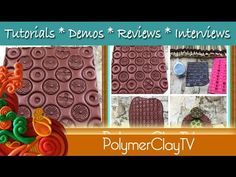 http://www.polymerclaytv.com In this episode of Polymer Clay TV Ilysa shows how to add texture to something that already has texture to take it one step furt...