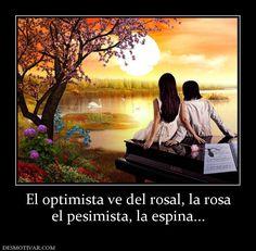 Somos Optimistas – Los optimistas aceptan a los Demás como Son http://www.yoespiritual.com/reflexiones-sobre-la-vida/somos-optimistas.html