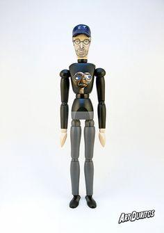 Steven Spielberg Art Doll  Sculpture  Articulated by ArtDuritos