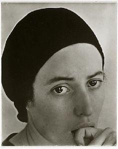 Alfred Stieglitz. Portrait of Dorothy Norman.