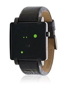 de.buyvip.com  Gehäusematerial: Edelstahl. Armbandmaterial: Leder. Anzeige: binär. Armbandlänge: 23 cm.