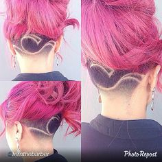 45 Undercut Hairstyles with Hair Tattoos for Women With Short or Long Hair Pompadour Hairstyle, Undercut Hairstyles, Top Hairstyles, Indian Hairstyles, Badass Haircut, Undercut Women, Hair Tattoos, Spring Hairstyles, Shaved Hair