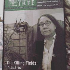 "1 Likes, 1 Comments - Diana Washington Valdez (@wdvaldez) on Instagram: ""Diana Washington Valdez on the cover of the former Newspaper Tree magazine."""