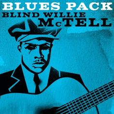 2011 Blues Pack: Blind Willie McTell (EP) [X5 Music Group] artwork: Natalia Petina-Kavli #albumcover #portrait
