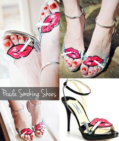 Prada Smoking shoes. I don't care what people say... I think they'e adorable! <3