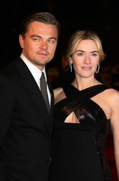 BUT NOTHING COMPARES TO THIS LOVE. | Kate Winslet Makes It Perfectly Clear Once Again That Leonardo DiCaprio Is Her Main Man