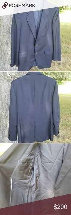 Balmain Boutique Suit Jacket Dark navy blue Pierre Balmain Suit Jacket size 42R Italian size 52 R. Good condition. No rips, stains, pilling, or fading. No trades. Pierre Balmain Suits & Blazers Sport Coats & Blazers