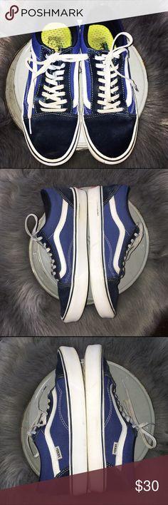 VANS Old Skool Lite. Men's 8 VANS Old Skool Lite. Ultra Cush sole technology. Super light shoe. In great used condition. Vans Shoes Sneakers