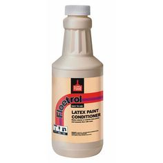 Flood Floetrol Latex Paint Additive 1 Qt Flood You add a few tablespoons to your paint and it's basically like a conditioner for your paint that leaves barely any brushstrokes behind.